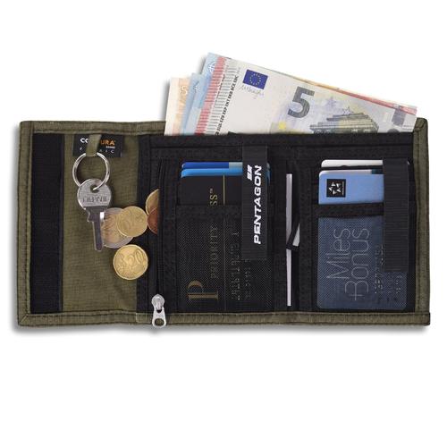 Ціна Підсумок ID панель та портмоне/гаманці / Pentagon STATER 2.0 WALLET K16057-2.0