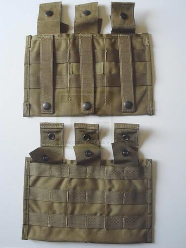 Ціна Підсумок для Магазинів гвинтівки (AR/М-серія та інші) / USGI Molle II TRIPLE MAGAZINE POCKET