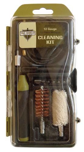 Ціна Чистка зброї / Набір для чистки гладкостволу 12 калібру Tac Shield 12 Gauge 13 Piece Shotgun Cleaning Kit 03968