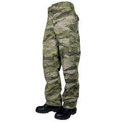 Тактичні військові штани Tru-Spec 24-7 Poly/Cotton R/S Pants w/Cell Phone Pockets, ATACS IX