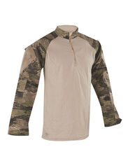 Військова сорочка Tru-Spec TRU 1/4 ZIP Combat Shirt, A-TACS IX, NYCO Rip-Stop