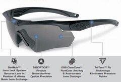 Балістичні тактичні окуляри ESS Crossbow ONE