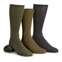 Антибактеріальні шкарпетки армії США USGI MILITARY ANTI-MICROBIAL BOOT SOCK