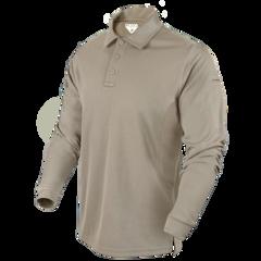 Тактичне поло на довгий рукав Condor Performance Long Sleeve Tactical Polo 101120