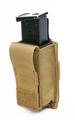 Підсумок молле для пістолетного магазину із вставкою Shark Gear Molle 9mm Single Mag Pouch With Hard Insert 80222, 900D