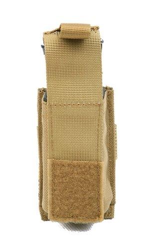 Ціна Підсумок для Магазинів пістолетних / Підсумок пістолетного магазину одинарний молле Pantac Molle 9mm Single Mag Pouch With Hard Insert PH-C222, Cordura