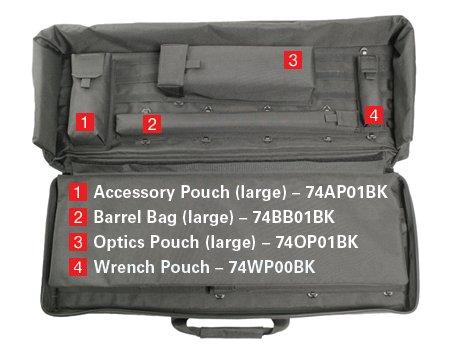 Ціна Чохли та кейси для транспортування і зберігання зброї / Сумка чохол для зброї BLACKHAWK Sportster Modular Weapons Case 36' 74SG04