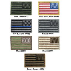 Патч шеврон прапор США Condor US FLAG PATCH Reverse 230R