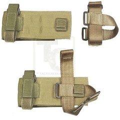 Наприкладний підсумок для магазину Specter Gear .223 Modular Ambidextrous Buttstock Magazine Pouch, Coyote