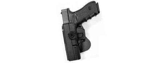 Ціна Полімерні кобури та аксесуари / Тактична полімерна кобура для Glock 17/22/31 (також для Gen.4) під ЛІВУ РУКУ IMI-Z1010LH