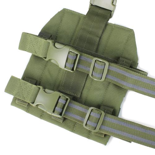 Ціна Ременеві Плечові Системи (РПС), розвантажувальні пояси, ремені, жилети та стегнові панелі / Панель молле на стегно Condor LEG PLATFORM MA1