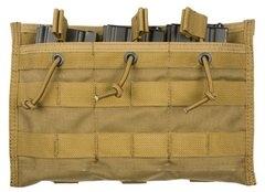 Підсумок для магазину потрійний Shark Gear M16 Triple Mag Pouch 80001880, Mod B