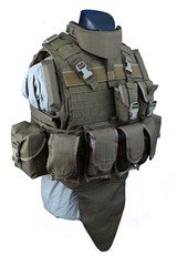 Бронежилет чохол Shark Molle MTV Body Armor 90002929, Medium, 900D