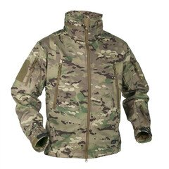 Тактичний утепленний Софтшелл Helikon-Tex GUNFIGHTER JACKET - SHARK SKIN WINDBLOCKER KU-GUN-FM