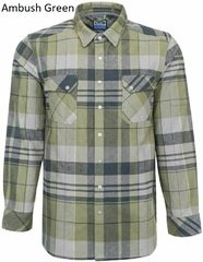 Тактична фланелева сорочка LA Police Gear Vanguard Mid Weight Flannel