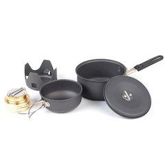Польовий столовий набір із спиртовим пальником NDuR Mini Cookware Kit w/Alcohol Burner 22400
