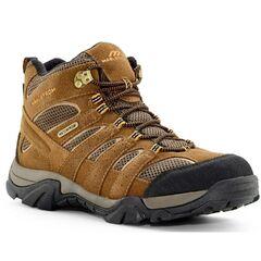 Тактичні водонепроникні черевики Maelstrom Men's Breeze Mid Waterproof 6 Hiking Boots, Brown 5150