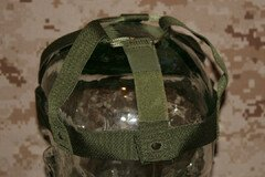USGI Kevlar PASGT Troop Parachutist Helmet Suspension