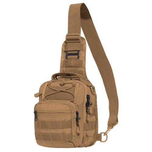 Ціна Сумки. Поясні, Плечові та для прихованого носіння зброї / Тактична плечова сумка кобура Pentagon UCB 2.0 K17046